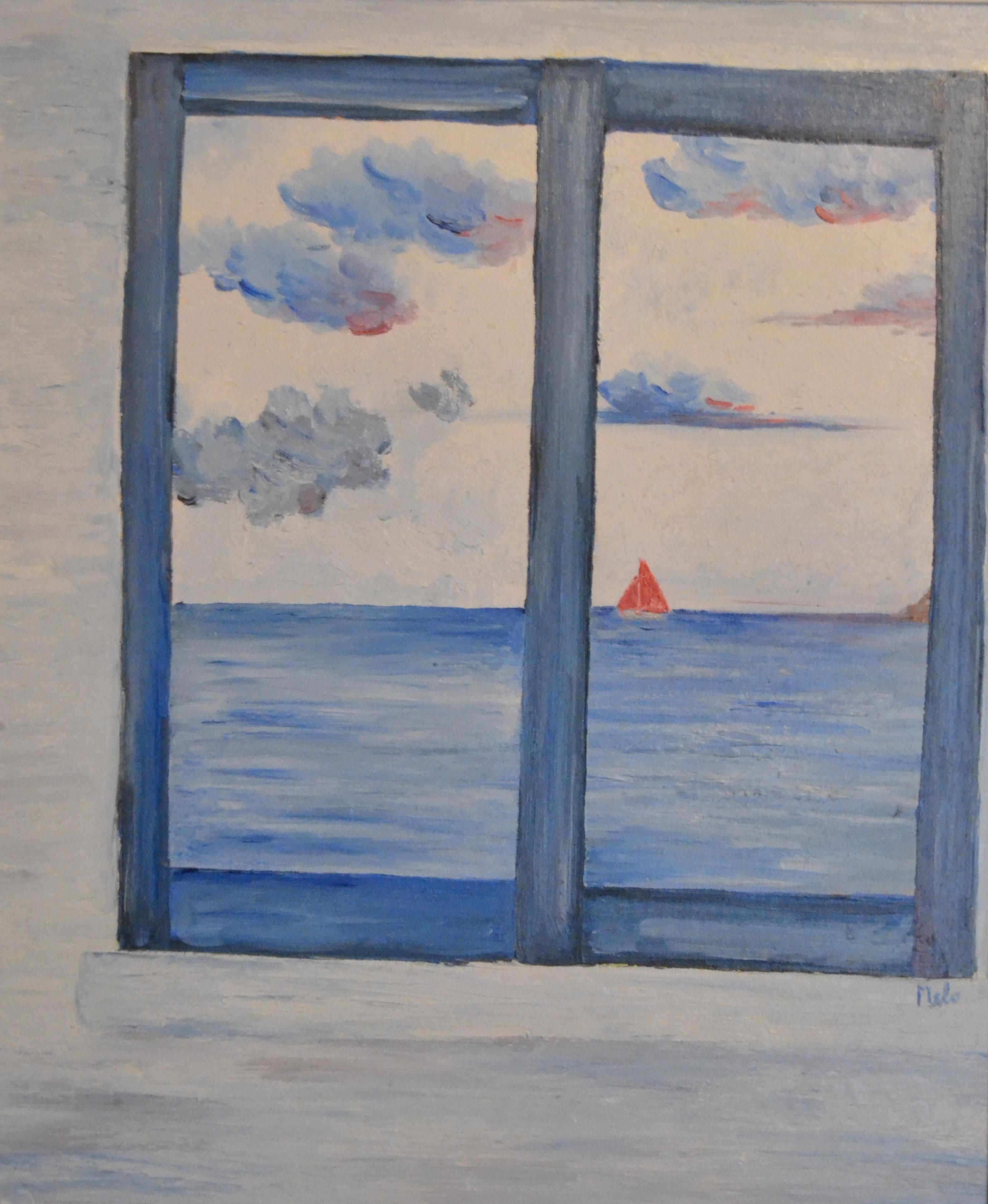 Carmelo scuderi quadri ad olio ed acquerello finestra - Quadro finestra ...