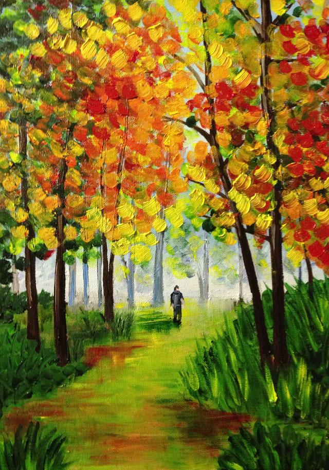 Carmelo scuderi quadri ad olio ed acquerello paesaggio for Quadri semplici