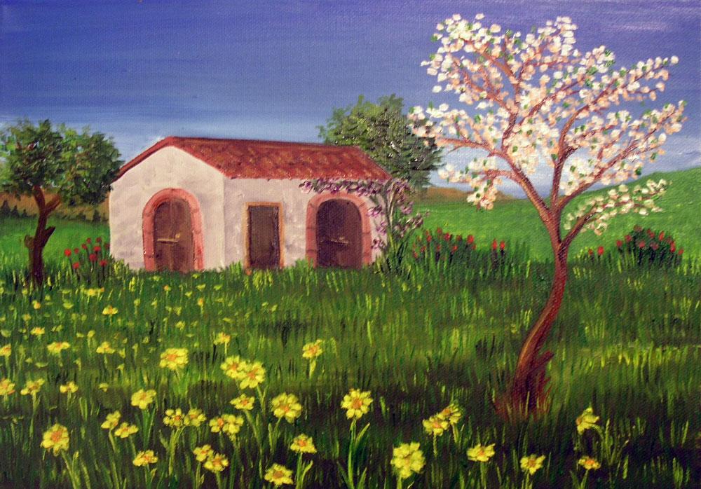 dipinti primavera
